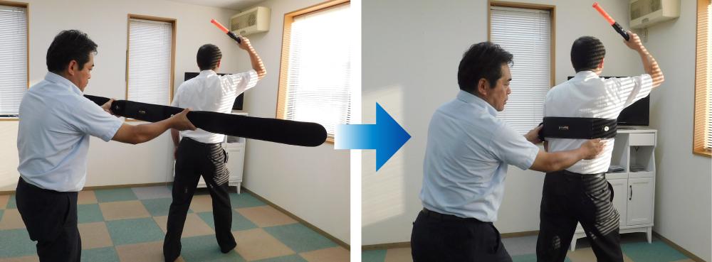 ヘッド単体を直接手投げで使用する事も可能